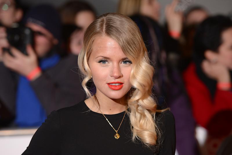 Hetti Bywater arriving for the 2014 National Television Awards at the O2 Arena, London. (Photo by Dominic Lipinski/PA Images via Getty Images)