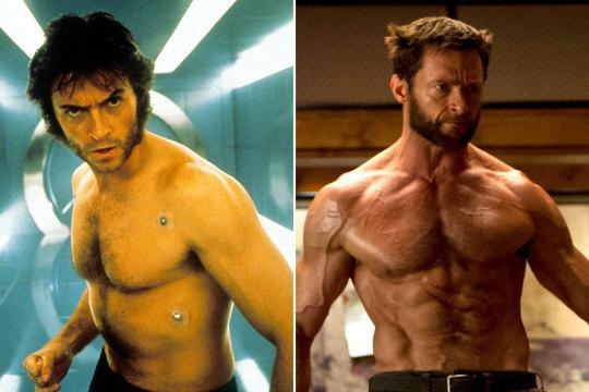 <p>Hugh was 31 when he played Wolverine for the first time, but he admits he didn't prepare for 'X-Men' with the same enthusiasm he does now. He trained for 5 months solid to beef up for 'The Wolverine' after 'Les Miserables' and he's at it again for'Wolverine 3′.<br /></p>