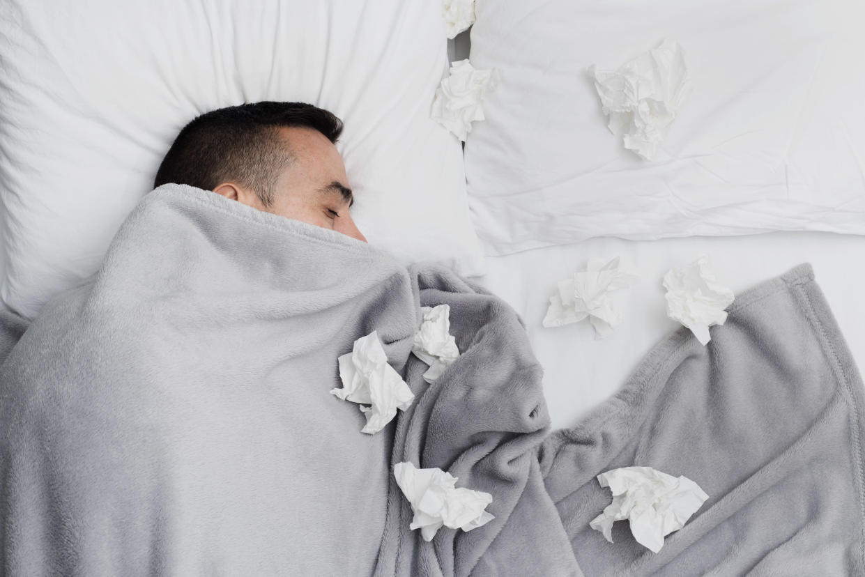 The flu virus can leave sufferers bedridden or even trigger serious complications. [Photo: Getty]