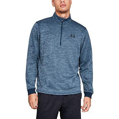 """<p><strong>Under Armour</strong></p><p>amazon.com</p><p><strong>$32.64</strong></p><p><a href=""""http://www.amazon.com/dp/B077XN3YHX/?tag=syn-yahoo-20&ascsubtag=%5Bartid%7C10055.g.28414150%5Bsrc%7Cyahoo-us"""" rel=""""nofollow noopener"""" target=""""_blank"""" data-ylk=""""slk:Shop Now"""" class=""""link rapid-noclick-resp"""">Shop Now</a></p><p>An extra layer to keep toasty and warm can never hurt. This fleece has a half-zipper, and lots of soft, comfy material on the inside. </p>"""