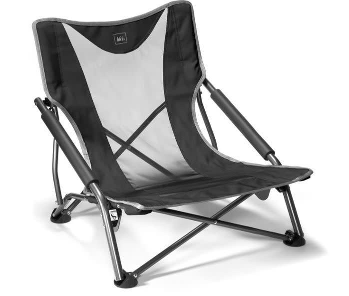 "We found this REI Co-op Camp Stowaway Low Chair for $40 at <a href=""https://fave.co/2Wn7SiW"" rel=""nofollow noopener"" target=""_blank"" data-ylk=""slk:REI"" class=""link rapid-noclick-resp"">REI</a>."