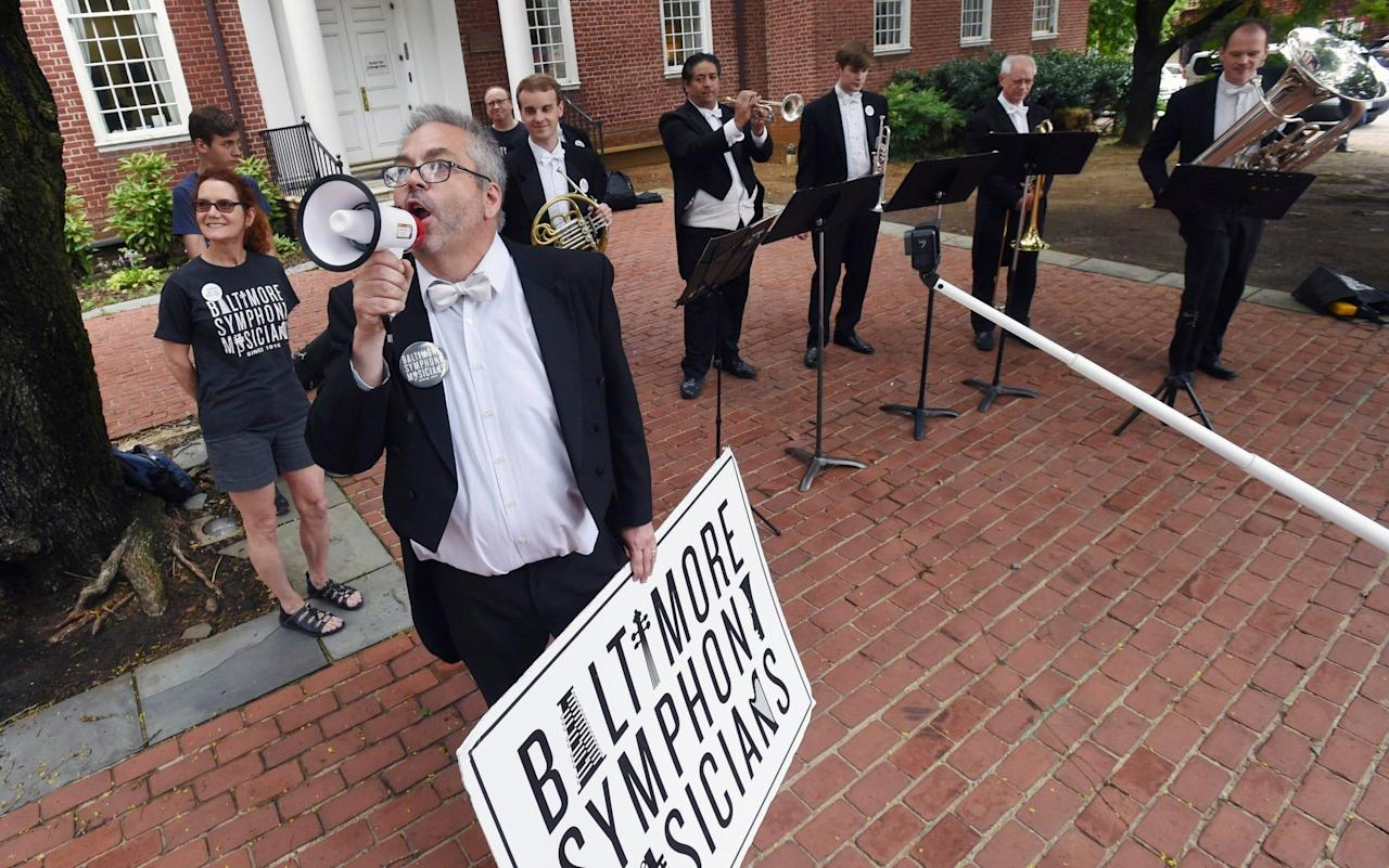 Baltimore locks out its world-class Symphony Orchestra in