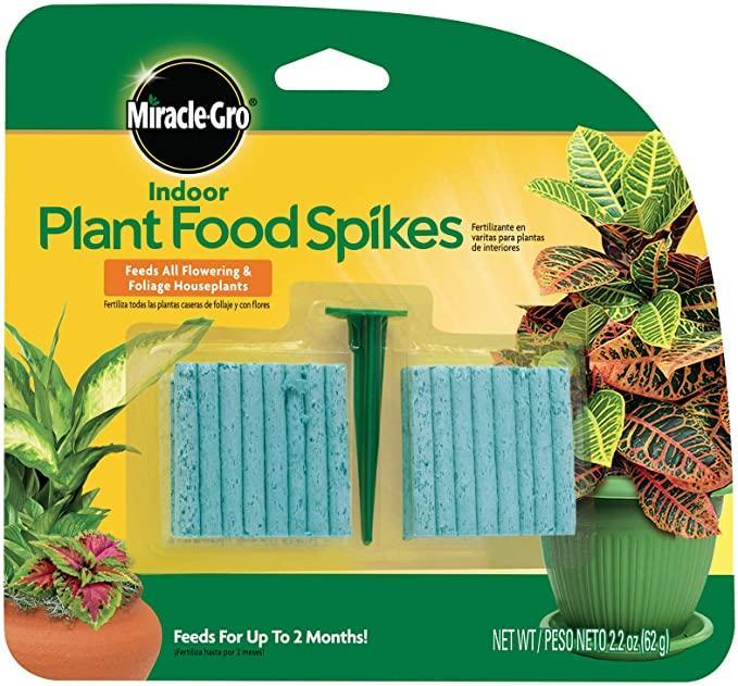 """<h2>Miracle-Gro Indoor Plant Food Spikes</h2><br><strong>Best Used For:</strong> Feeding your plant pals for months<br><br><strong>The Hype:</strong> 4.4 out of 5 stars and 51,537 ratings<br><br><strong>Practical Peeps say:</strong> """"It's really easy to use these spikes — you water the plants until the soil is moist and then use the included plastic stake in order to push the food into the pot. It's great for a variety of sizes of indoor plants simple to use. <br><br>We've only had this in the soil for a few weeks, but I can see a noticeable difference in the color of our plants. They've taken a bit of a downturn during the winter months and these Plant Food Spikes seem to have brought back some of the color — I think it will help these to thrive year-round.""""<br><br><em>Shop <strong><a href=""""https://amzn.to/3iEsFco"""" rel=""""nofollow noopener"""" target=""""_blank"""" data-ylk=""""slk:Amazon"""" class=""""link rapid-noclick-resp"""">Amazon</a></strong></em><br><br><strong>Miracle-Gro</strong> Indoor Plant Food Spikes, $, available at <a href=""""https://amzn.to/3zsh9rs"""" rel=""""nofollow noopener"""" target=""""_blank"""" data-ylk=""""slk:Amazon"""" class=""""link rapid-noclick-resp"""">Amazon</a>"""