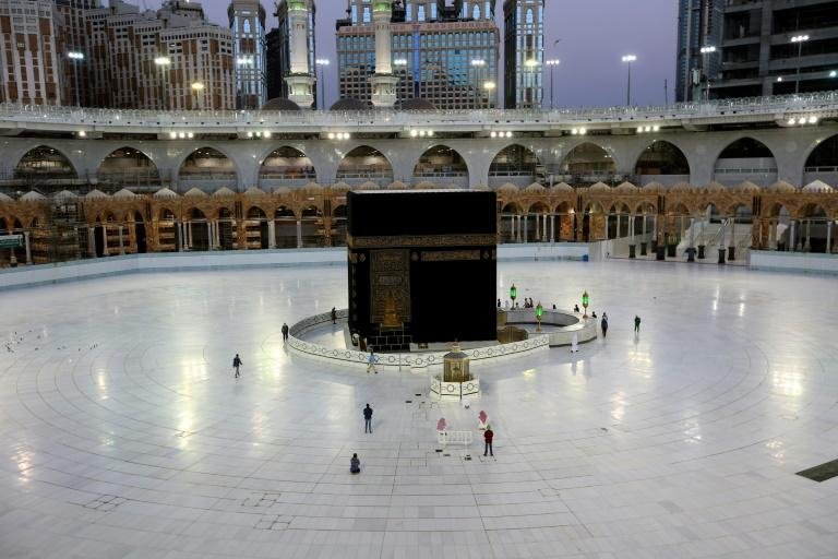 Saudi Arabia's finances have also taken a battering as coronavirus forces authorities to massively scale back the annual pilgrimage to Islamic holy sites in Mecca