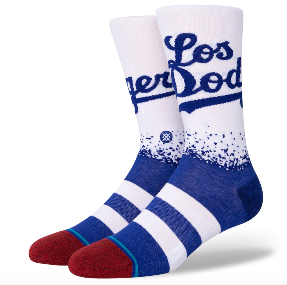 Dodgers Stance 2021 City Connect Crew Socks