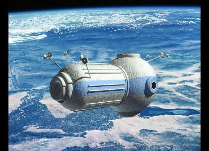"""Of course, you'll need somewhere to put your bags once you're in space. Orbital Technologies, a Russian company, <a href=""""http://www.huffingtonpost.com/2011/08/21/space-hotel-pictures-video_n_931951.html"""" rel=""""nofollow noopener"""" target=""""_blank"""" data-ylk=""""slk:is building a space hotel"""" class=""""link rapid-noclick-resp"""">is building a space hotel</a> where seven guests will be able to dine on veal cheeks and wild mushrooms at 217 miles above the earth. The company is planning to open the hotel in 2016. <a href=""""http://www.reuters.com/article/2011/08/19/russia-space-tourism-idUSLDE77F0PF20110819"""" rel=""""nofollow noopener"""" target=""""_blank"""" data-ylk=""""slk:According to Reuters"""" class=""""link rapid-noclick-resp"""">According to Reuters</a>, a five-day stay will set you back a cool $1 million."""