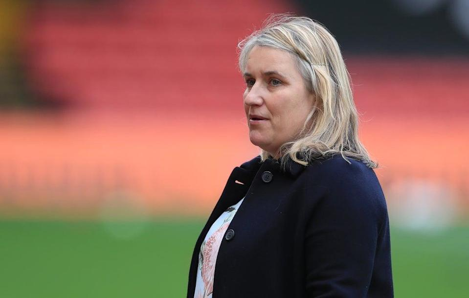 Chelsea Women manager Emma Hayes was critical of even the increased prize money for Euro 2022 (Mike Egerton/PA) (PA Wire)