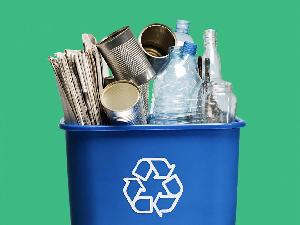 Study: The Best and Worst States at Recycling: recycling bin