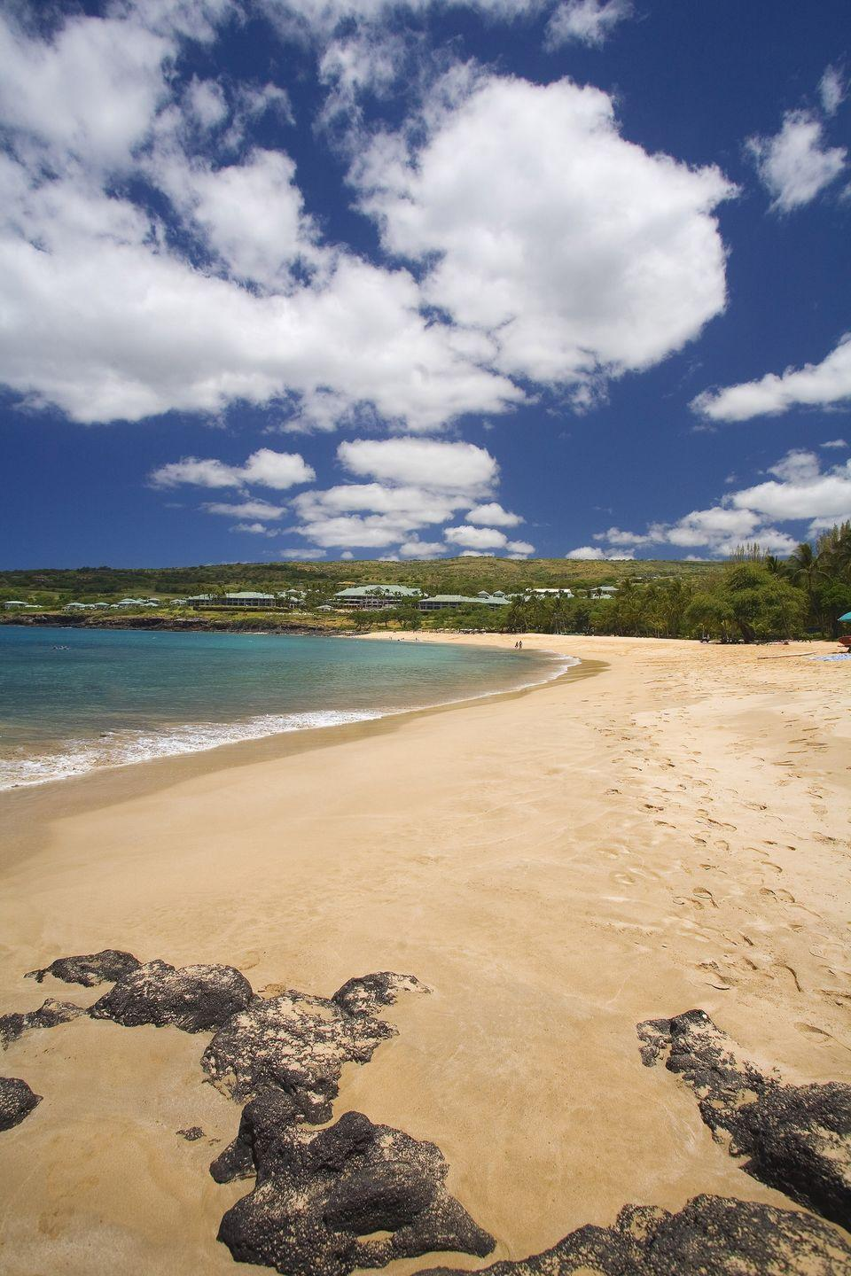 <p><strong>Population:</strong> 29</p><p>You'll find the gorgeous Maulee Bay and Hulopoe Bay just a few miles away on the island of Lanai.<br></p>