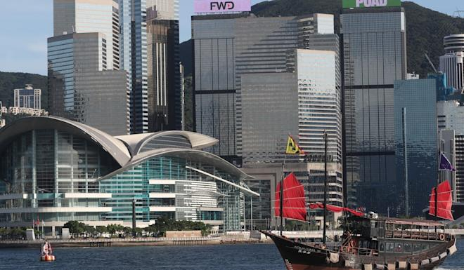 The Hong Kong Convention and Exhibition Centre has gone largely unused during the pandemic. Edmond So