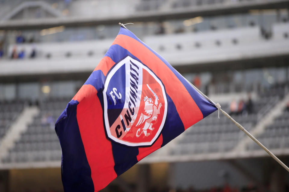 """Construction of FC Cincinnati's stadium was halted after """"racist incidents"""" from two subcontractors. (Photo by Justin Casterline/Getty Images)"""