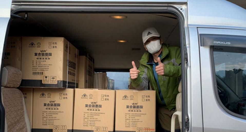 Cao, known as Tang Di during the pandemic, has been hailed a hero by millions on Chinese social media. Source: Weibo