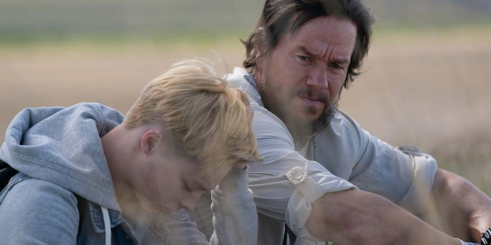 Mark Wahlberg and Reid Miller in <em>Good Joe Bell</em>. (Photo: Courtesy of TIFF)