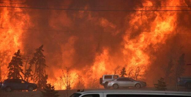 The Horse River wildfire in 2016 caused $9 billion in damage.