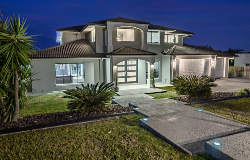 Buyers are divided over the interesting design feature of the six-bedroom home at 18 Alverna Close, Wynnum. Source: Queensland Sotheby's International