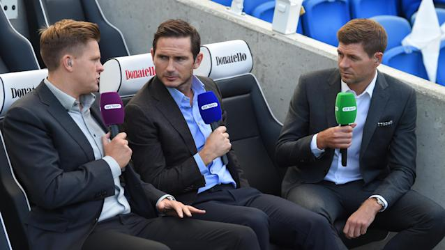 Frank Lampard is a BT Sport pundit this season