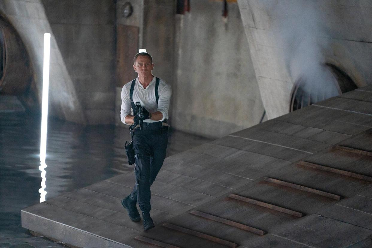 Daniel Craig in a still from No Time To Die. (Eon/Universal)