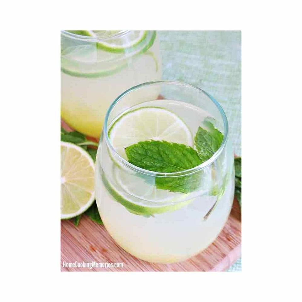 """<p>Give premade pineapple vodka a quick and easy upgrade by mixing it with store-bought limeaid and muddled fresh pineapple and mint. </p><p>Get the recipe at <a href=""""https://homecookingmemories.com/pineapple-vodka-limeade-recipe/"""" rel=""""nofollow noopener"""" target=""""_blank"""" data-ylk=""""slk:Home Cooking Memories"""" class=""""link rapid-noclick-resp"""">Home Cooking Memories</a>. </p>"""