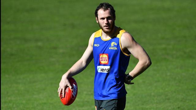 He may not be able to play, but Daniel Venables has given West Coast a lift at their AFL hub