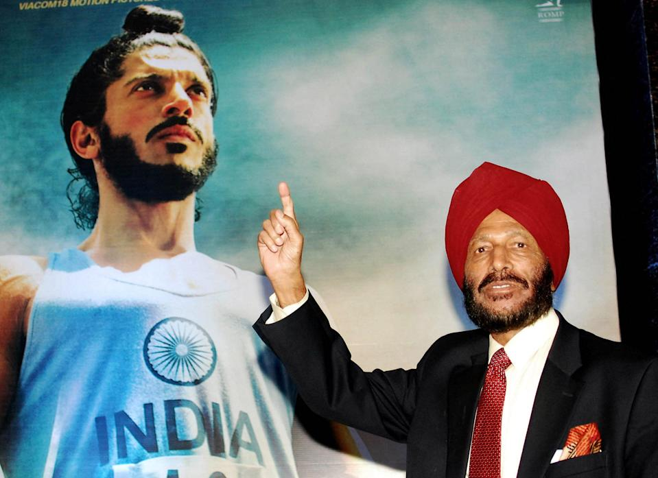 """Track star Milkha Singh, """"The Flying Sikh,"""" one of India's most successful athletes who overcame childhood tragedy to seek Olympic glory, has died at 91 after a battle with COVID-19."""
