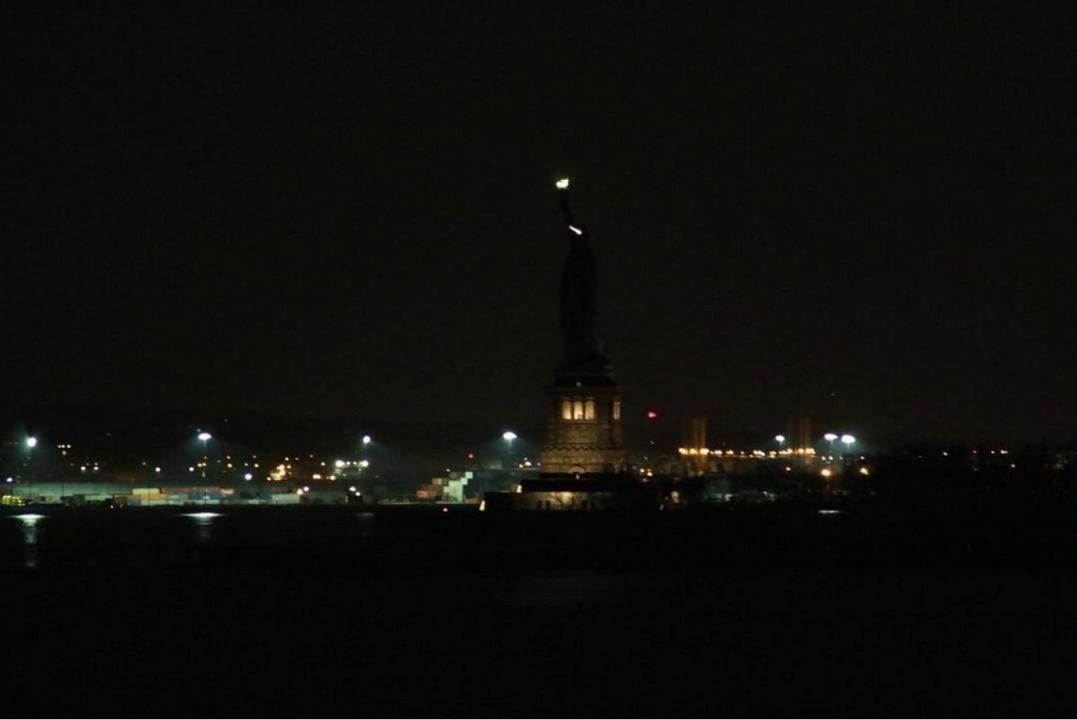 The Day Without Women was kicked off when the Statue of Liberty went dark the nightbefore the rallies.