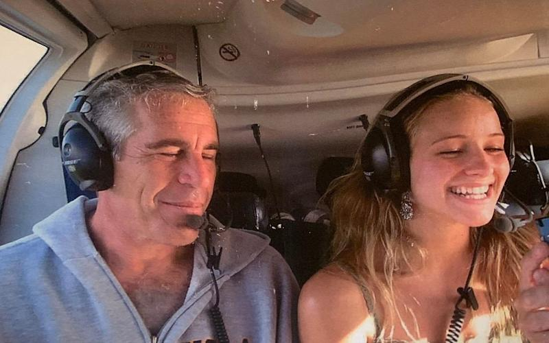 Jeffrey Epstein and Teala Davies