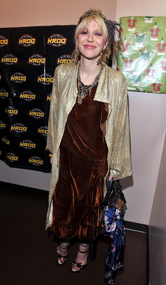 """When will Courtney Love learn to buy a mirror? Lester Cohen/<a href=""""http://www.wireimage.com"""" target=""""new"""">WireImage.com</a> - December 14, 2008"""