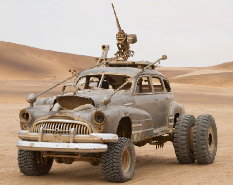 BUICK: HEAVY ARTILLERY WITH HUMMER WEAPON MOUNT from Mad Max Fury Road