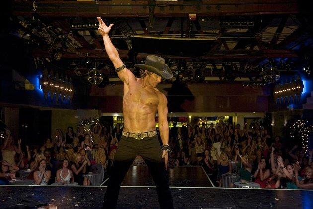 Matthew McConaughey as Dallas in 'Magic Mike'