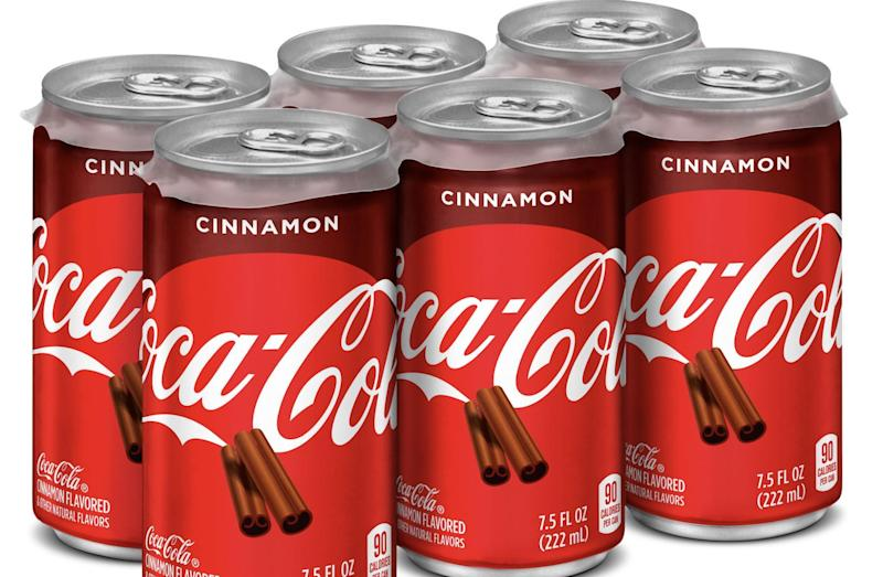 Coca-Cola Cinnamon is about to shake up your drink choices