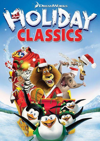 """<p>It's a sleigh full of your favorite DreamWorks characters in this set of four short holiday-based films from the animation studio. Get ready to giggle the night away with Shrek and Donkey, Hiccup and Toothless from <em>How To Train Your Dragon</em>, and those penguins from <em>Madagascar </em>who are always up to no good.</p><p><a class=""""link rapid-noclick-resp"""" href=""""https://www.netflix.com/title/70221348"""" rel=""""nofollow noopener"""" target=""""_blank"""" data-ylk=""""slk:Watch Now"""">Watch Now</a></p>"""
