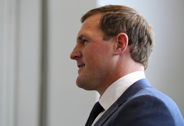 Now with ESPN, Jason Witten says his criticism of domestic abusers is what he truly believes. (AP Photo)