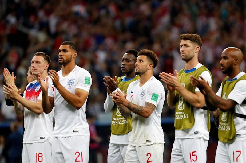 England lost 2-1 to Croatia in a nail-biting World Cup semi-final (EPA)