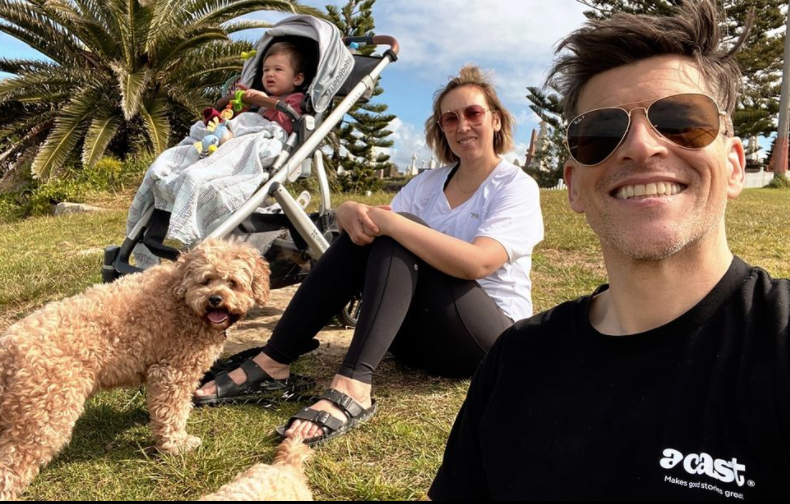 osher gunsberg and wife audrey son wolf