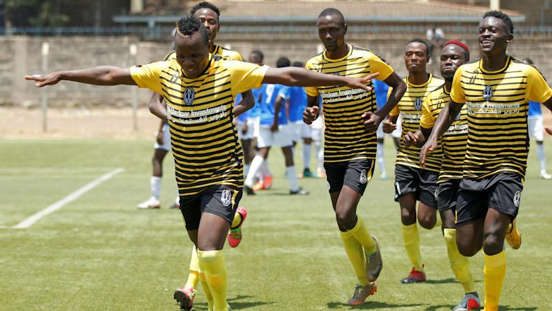 Wazito coach Fred Ambani lauds charges after a late win against Nairobi City Stars