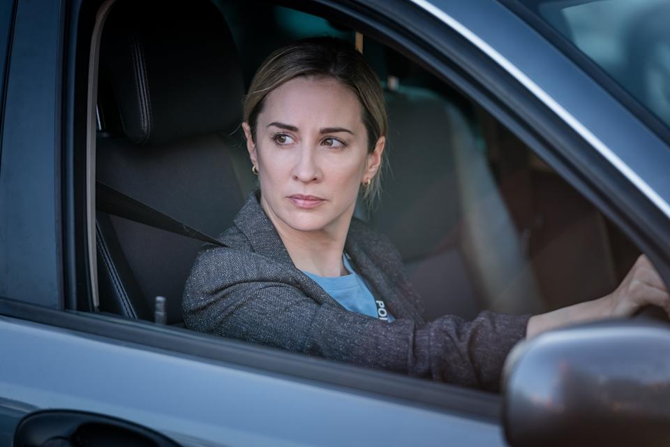 <p>Morven Christie as DC Lisa Armstrong in 'The Bay'</p> (ITV)