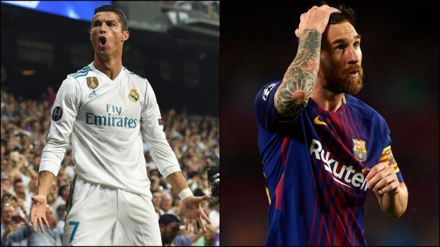<p>Ballon d'Or: Cristiano Ronaldo v Lionel Messi - Who had the better year?</p>