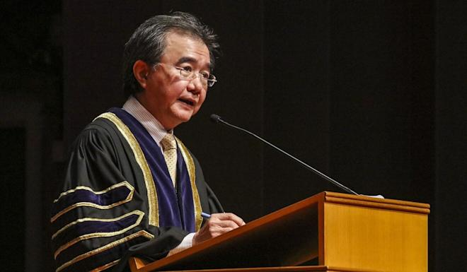 Professor Roland Chin retires in August. Photo: Felix Wong