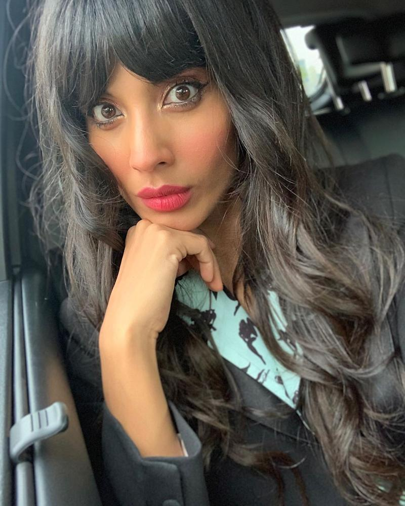 Jameela Jamil has slammed reports that she was quarantining with Meghan Markle in LA. Photo: Instagram/jameelajamilofficial.
