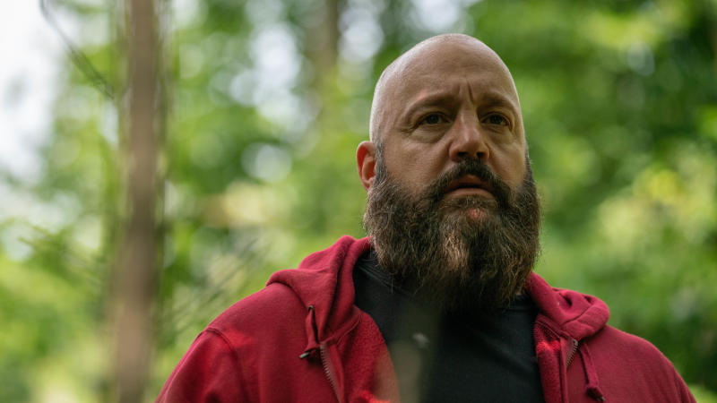 Kevin James as a white supremacist killer in 'Becky'. (Credit: Vertigo Releasing)