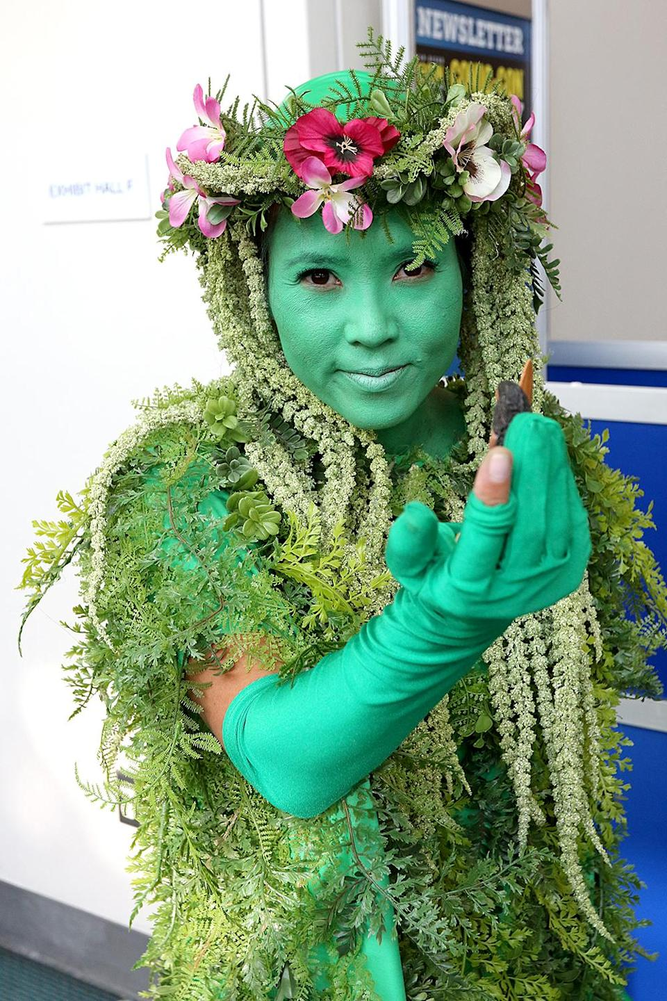 <p>Cosplayer dressed as Te Fiti from <em>Moana</em> at Comic-Con International on July 20 in San Diego. (Photo: Angela Kim/Yahoo Entertainment) </p>
