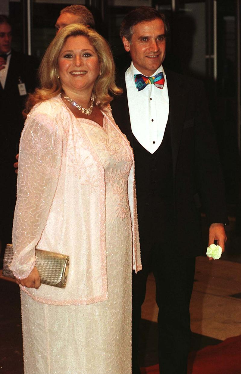 Vanessa Feltz with former husband Dr Michael Kurer