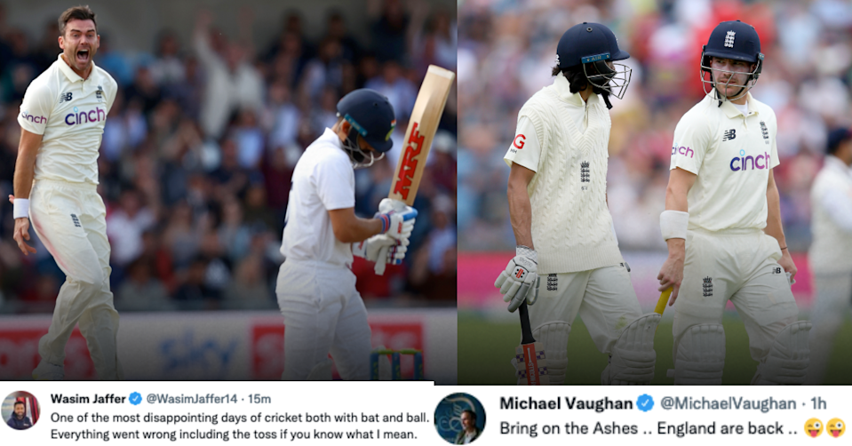 England vs India, 2021: Twitter Reacts As All-Round England Dominate India On Day 1 Of The Headingley Test