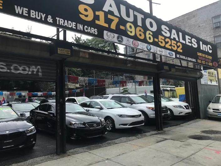 The jump in used cars prices accounted for one-third of the rise in the US consumer price index in June compared to May