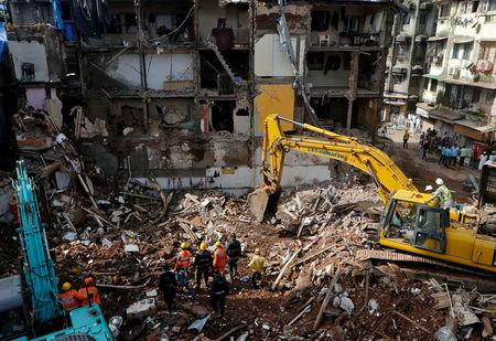 7 killed in Mumbai building collapse; many feared trapped