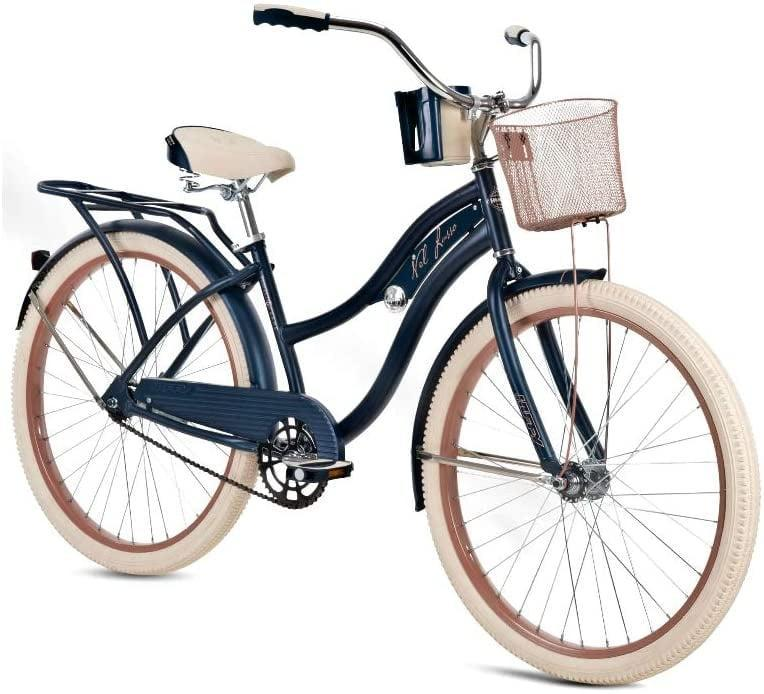 """<p>This <span>Huffy 26"""" Nel Lusso Cruiser Bike</span> ($280) has a basket, which is so useful.</p>"""