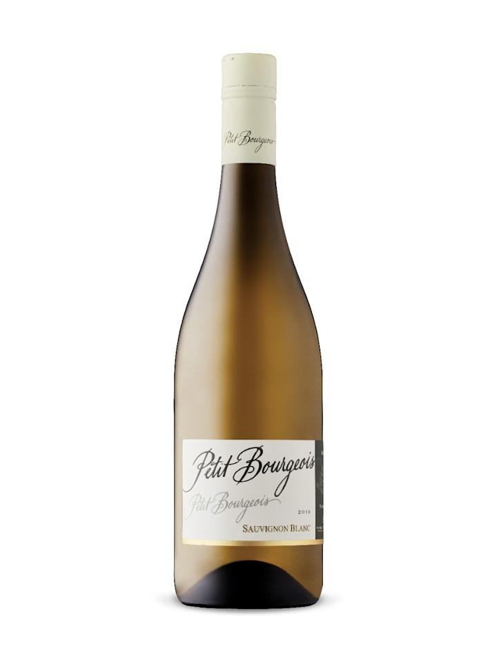 """<p>Henri Bourgeois Petit Bourgeois Sauvignon Blanc 2015</p><p><a rel=""""nofollow"""" href=""""https://www.wine.com/product/henri-bourgeois-petit-bourgeois-sauvignon-blanc-2015/159652"""">Buy Now</a> $13.99</p><p>For salads and sides, this Sauvignon Blanc from the Loire Valley is grassy, herbal, and tangy enough to rival its cousins from New Zealand. Pair with pumpkin soup with sage with pieces of ham tossed in as a way to warm up before the turkey, Callahan says.</p>"""