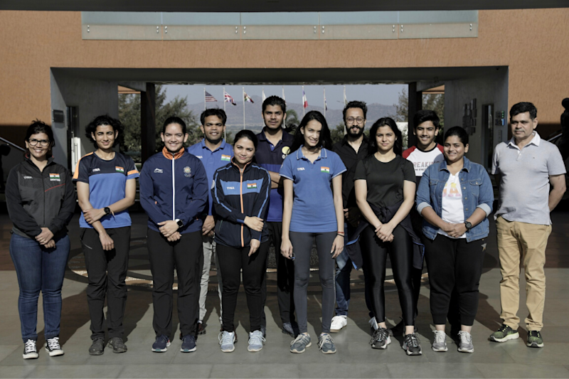 2020 Tokyo Olympics-bound Shooters Attend High Performance Camp