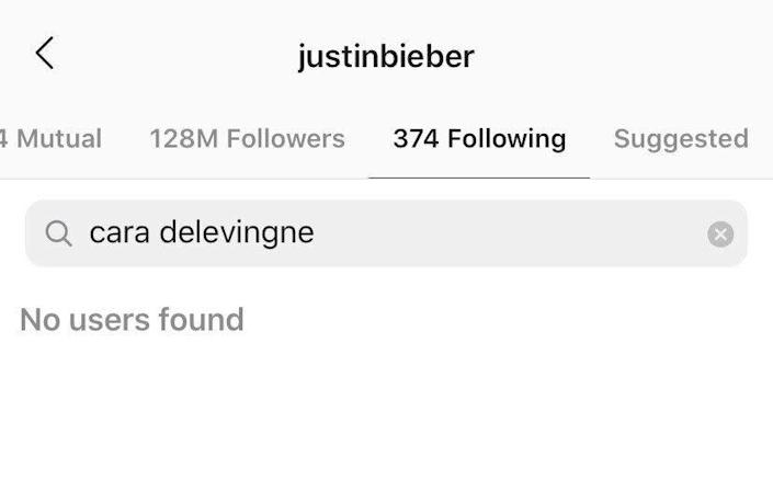 """""""He should have just eaten the bull penis,"""" Cara Delevingne said of Justin Bieber. (Photo: Instagram)"""