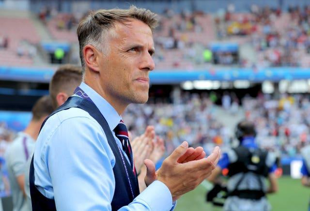 Former England head coach Phil Neville was receptive to how greater understanding of his players' menstrual cycles could improve performance